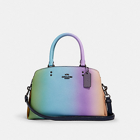 COACH 91055 MINI LILLIE CARRYALL WITH OMBRE QB/MULTICOLOR