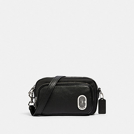 COACH 91065 COURT CROSSBODY SV/BLACK