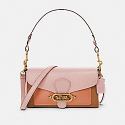 SMALL JADE SHOULDER BAG IN COLORBLOCK - 91070 - OL/BLOSSOM MULTI