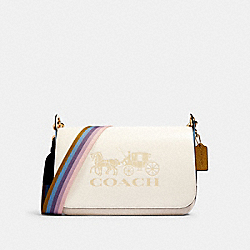 COACH 91080 - JES MESSENGER IN COLORBLOCK IM/CHALK MULTI