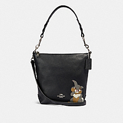 COACH 91117 - DISNEY X COACH MINI ABBY DUFFLE WITH THUMPER SV/BLACK MULTI