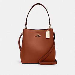 COACH 91122 - TOWN BUCKET BAG IM/REDWOOD/1941 RED