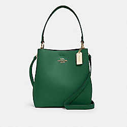 COACH 91122 Town Bucket Bag IM/KELLY GREEN/BLACK