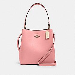 COACH 91122 Town Bucket Bag IM/BUBBLEGUM/WINE