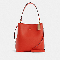 COACH 91122 Town Bucket Bag IM/MANGO/WINE
