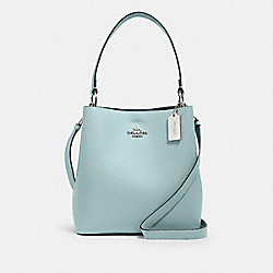 COACH 91122 - TOWN BUCKET BAG SV/SEAFOAM/DENIM