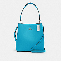 TOWN BUCKET BAG - 91122 - SV/AQUA SHAMROCK