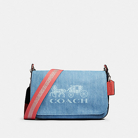 COACH 91137 JES MESSENGER SV/DENIM