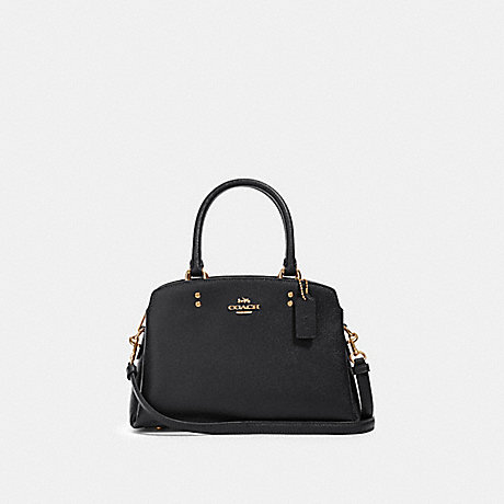 COACH 91146 MINI LILLIE CARRYALL IM/BLACK