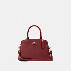 COACH 91146 Mini Lillie Carryall IM/DEEP RED