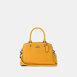 COACH 91146 - MINI LILLIE CARRYALL QB/HONEY