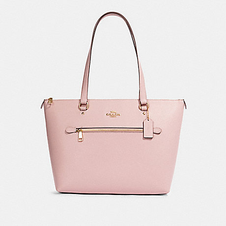 COACH 91147 GALLERY TOTE WITH ROSE BOUQUET PRINT INTERIOR IM/BLOSSOM