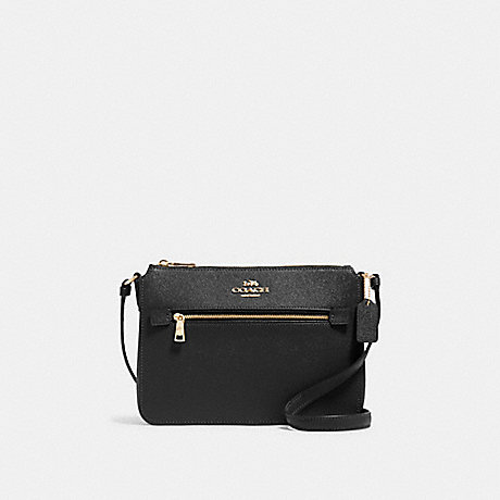 COACH 91148 GALLERY FILE BAG IM/BLACK