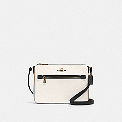 COACH 91149 - GALLERY FILE BAG IN COLORBLOCK IM/CHALK MULTI