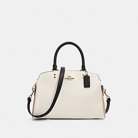 COACH 91162 LILLIE CARRYALL IN COLORBLOCK IM/CHALK-MULTI