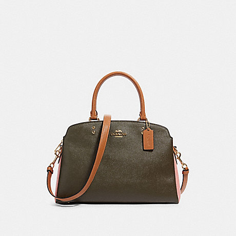 COACH 91162 LILLIE CARRYALL IN COLORBLOCK IM/CANTEEN-MULTI