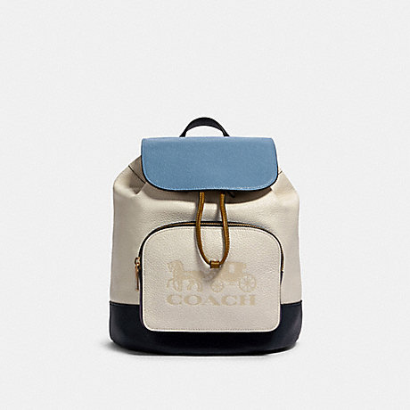 COACH 91163 JES BACKPACK IN COLORBLOCK IM/CHALK-MULTI