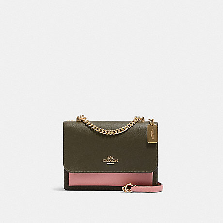 COACH 91166 KLARE CROSSBODY IN COLORBLOCK IM/CANTEEN-MULTI