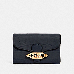 COACH 91192 Jade Medium Envelope Wallet IM/MIDNIGHT