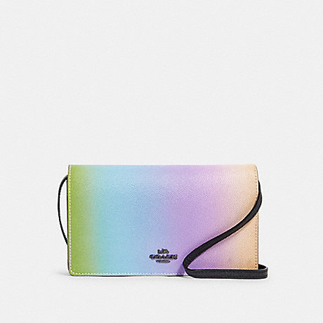COACH 91196 HAYDEN FOLDOVER CROSSBODY CLUTCH WITH OMBRE QB/MULTICOLOR