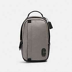 COACH 91235 Edge Pack QB/HEATHER GREY