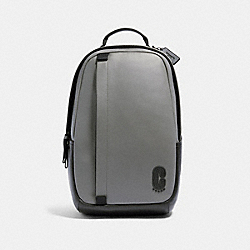 COACH 91236 Edge Backpack QB/HEATHER GREY