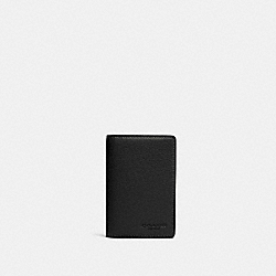 COACH 91308 Business Card Case QB/BLACK