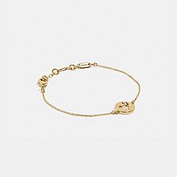 COACH 91353 Rexy Cutout Bracelet GOLD
