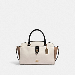 BRIE CARRYALL IN COLORBLOCK - 91387 - IM/CHALK MULTI