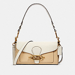 JADE SHOULDER BAG IN COLORBLOCK - 91393 - OL/CREAM MULTI