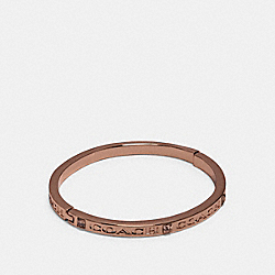 COACH 91410 Coach Stone Bangle ROSEGOLD