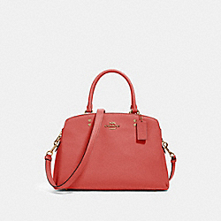 COACH 91493 Lillie Carryall IM/BRIGHT CORAL