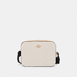 COACH 91540 Mini Camera Bag In Colorblock IM/CHALK MULTI