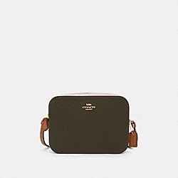 COACH 91540 - MINI CAMERA BAG IN COLORBLOCK IM/CANTEEN MULTI