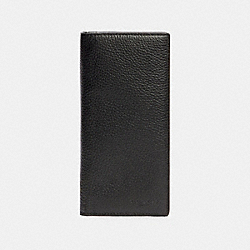 COACH 91807 Breast Pocket Wallet QB/BLACK
