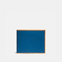 COACH 920 3-in-1 Wallet PACIFIC/POLLEN