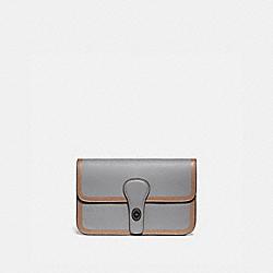 COACH 93817 Turnlock Tab Belt Bag BLACK COPPER/WASHED STEEL