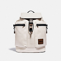 COACH 93849 Pacer Utility Backpack With Coach Patch JI/BONE