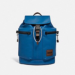 COACH 93849 Pacer Utility Backpack With Coach Patch JI/PACIFIC