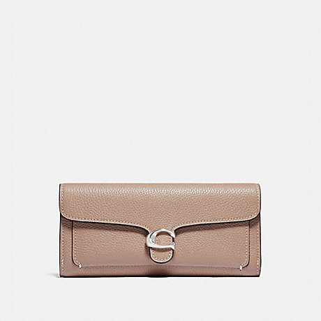 COACH 93983 TABBY LONG WALLET LH/TAUPE