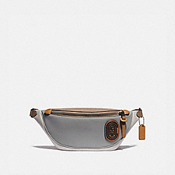 RIVINGTON BELT BAG IN COLORBLOCK WITH COACH PATCH - 959 - JI/WASHED STEEL
