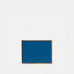 SLIM BILLFOLD WALLET - PACIFIC/POLLEN - COACH 965