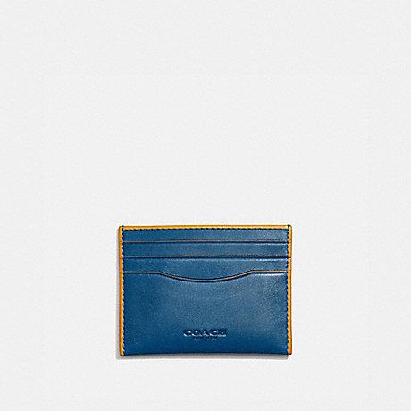 COACH 971 CARD CASE PACIFIC/POLLEN
