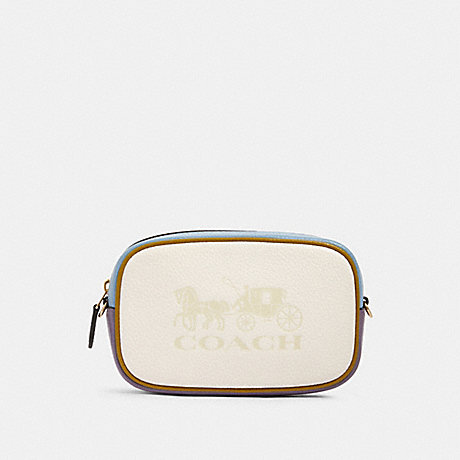 COACH 97654 JES CONVERTIBLE BELT BAG IN COLORBLOCK IM/CHALK-MULTI