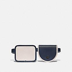 COACH 97742 Turnlock Convertible Multi Bag MIDNIGHT/BONE