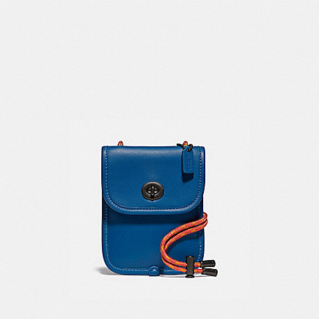 COACH 97783 TURNLOCK POUCH 10 PACIFIC