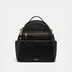 BABY BACKPACK - 99290 - BRASS/BLACK