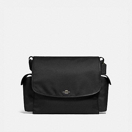 COACH 99292 BABY MESSENGER BAG BRASS/BLACK