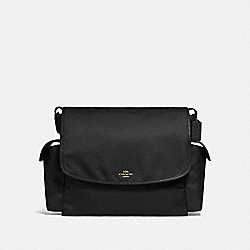 BABY MESSENGER BAG - 99292 - BRASS/BLACK