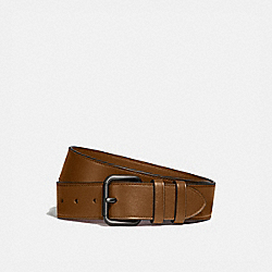 ROLLER BUCKLE BELT, 38MM - SIENNA - COACH 99434